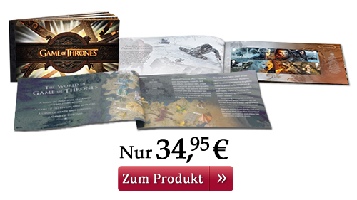 Game of Thrones Luxus-Briefmarkenheft